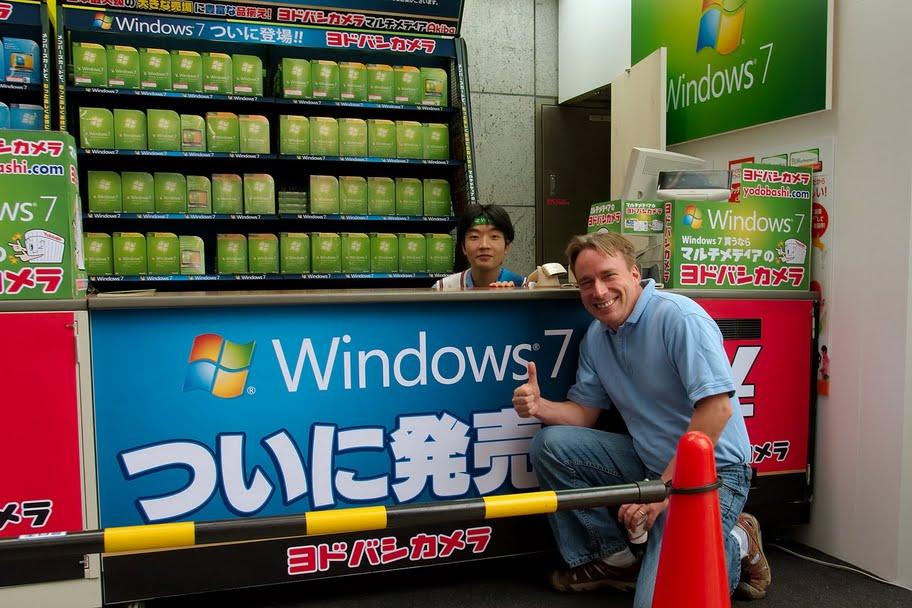 Linus + Windows 7